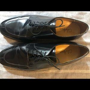 Men's black dress shoes size 12